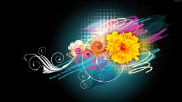 Flower Vector Designs 1080p Wallpapers | HD Wallpapers 1742