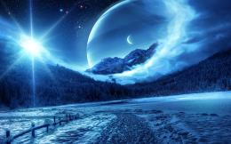 Fantasy winter scenery Wallpapers Pictures Photos Images 200