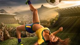 Brazil World Cup 2014 football baby sexy wallpaper | HD Wallpapers 759
