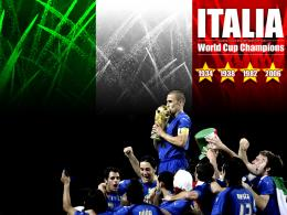 Italy International Football Team 790