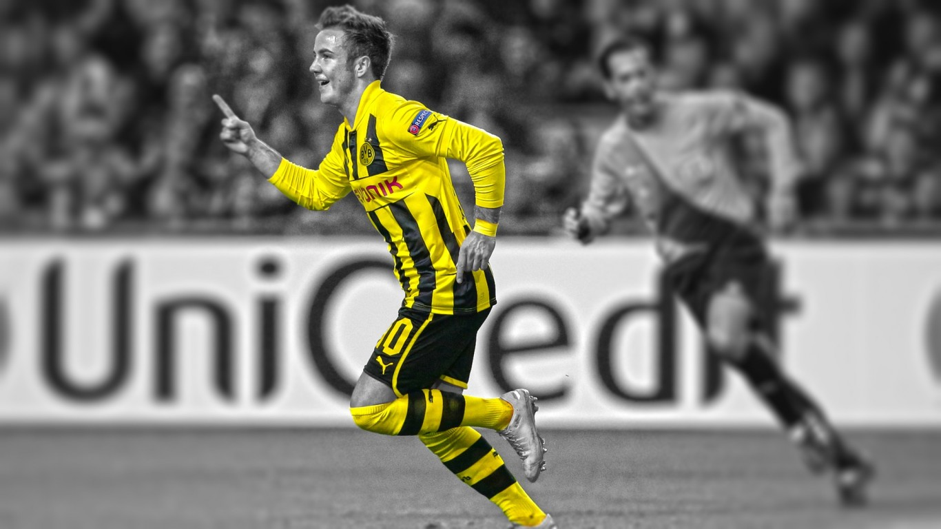 Mario Gotze Attacker Wallpaper HD 1455