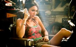 Megan Fox Exclusive Transformers 2 178