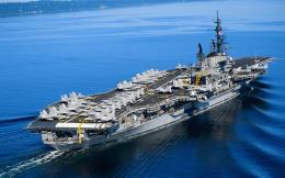 Exchange wallpaper » Military pictures » Aircraft carrier wallpapers 1805