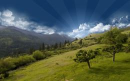 Hill Top Mountain Sky Wallpapers | HD Wallpapers 491