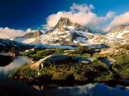 Amazing wallpapers Mountain Lakes ~ Hd Desktop Wallpaper 1823