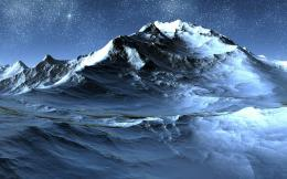 Icy mountains wallpaper | Wallpaper Wide HD 352