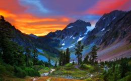 Switzerland mountains sunset Wallpapers Pictures Photos Images 1823