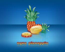 share to pinterest labels aqua collection fruits pineapple wallpaper 670