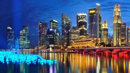 Wallpapers :: night, Singapore, glowing, Marina Bay Sands, cities 1358