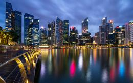 Singapore Lion City night Wallpapers HD, HD Desktop Wallpapers 631