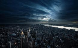 11, 2014 2560 × 1600 cloudy, dark city, sky, New York HD wallpapers 1149