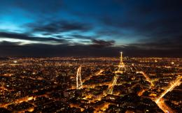 Paris Night Sky Wallpapers | HD Wallpapers 1398