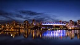 Vancouver City Night Blue Sky | 1366 x 768 | Download | Close 252