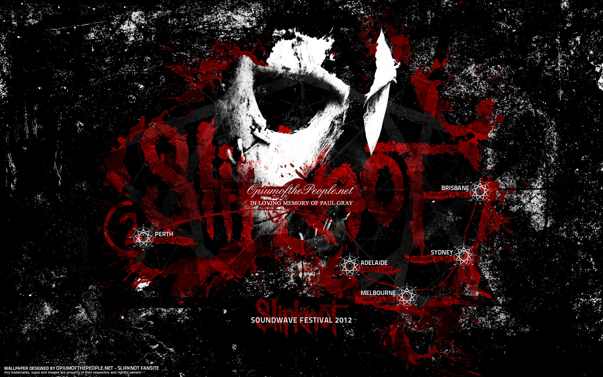 Desktop Exchange wallpaper » Music pictures » Slipknot wallpapers 1020