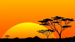 Scenery Safari Hires Sun Sunrise Africa HD wallpapers 166