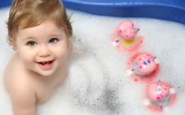 Cute Baby Bath Wallpapers | HD Wallpapers 835