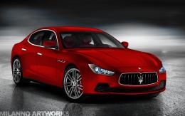 Maserati Ghibli Admaserati Ghibli Black Wallpaper Hd Desktop Wallpaper 1728