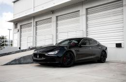 Black Maserati Wallpapers 452