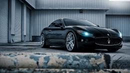 Full View and Download black maserati Wallpaper with resolution of 1073