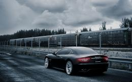 Black Maserati Wallpapers 881