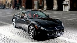 2015 Maserati Quattroporte Black Background HD Wallpaper Desktop 1897