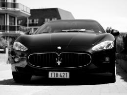 Black Maserati Wallpapers 1171