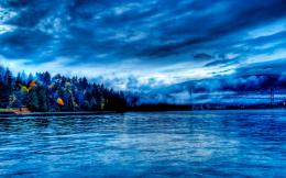 1280x800 Blue water scenery desktop PC and Mac wallpaper 110