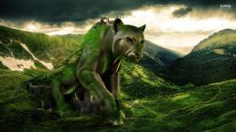 desktop wallpaper, Mountain wallpaper, Statue wallpaper, Cougar 932