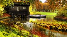 Nature House Pond Water HD Wallpapers #7024   HD Wallpaper & 3D 1065
