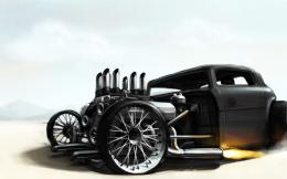 Flaming Rat Rod Wallpapers, Flaming Rat Rod Myspace Backgrounds … 895