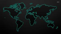 Glowing world map wallpaper 2560x1600 more 1653