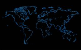 Black World Map Wallpaper 8643 Hd Wallpapers 1429