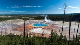Yellowstone National Park in Country US HD Image Download 1055