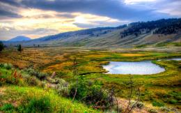 Beautiful Yellowstone National Park photos 1026