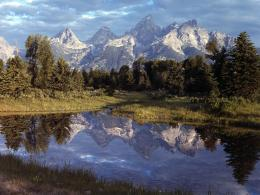 Grand Teton Reflections, Yellowstone 346