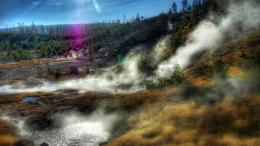 Download Yellowstone National Park 1360x768 Wallpaper 117