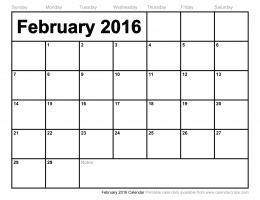 Feb And March 2016 Calendar Wallpaper 277