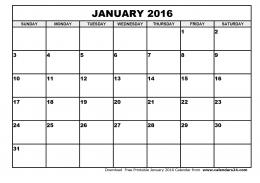 January 2016 Quotes Calendar 1 1885