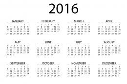 2016 Calendar Images Printable Free Templates 1983