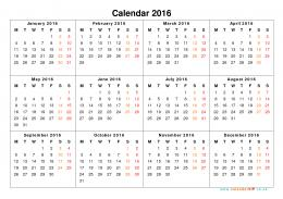 Calendar 2016 UK – Free Yearly Calendar Templates for UK 321
