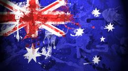 Australian Flag Paint Drawn HD Wallpaper 296