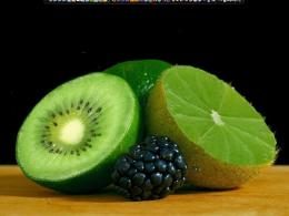 Friut Kiwi And Blueberries HD wallpapersFriut Kiwi And Blueberries 1623