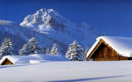 WINTER CABIN WALLPAPERS | WINTER CABIN Scenery Desktop wallpapers 149