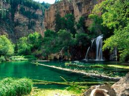 Hanging Lake, Glenwood Canyon, ColoradoFree Desktop Wallpaper s 786
