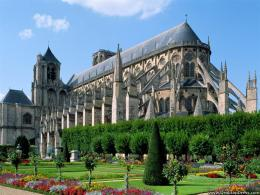 Cathedral of St Etienne, Bourges, France 1167