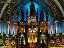 Download wallpaper Cathedral, altar, Gothic free desktop wallpaper in 1147
