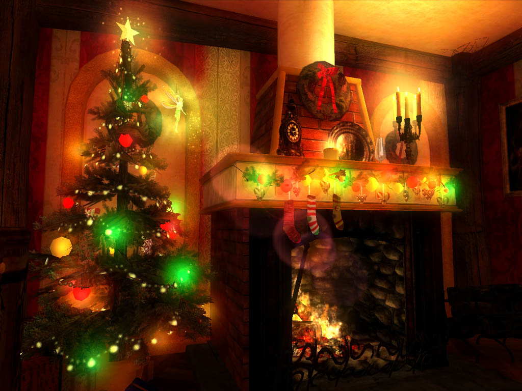 Christmas Magic 3D screensaver: it\'s time to ask Santa to fulfil your 1826