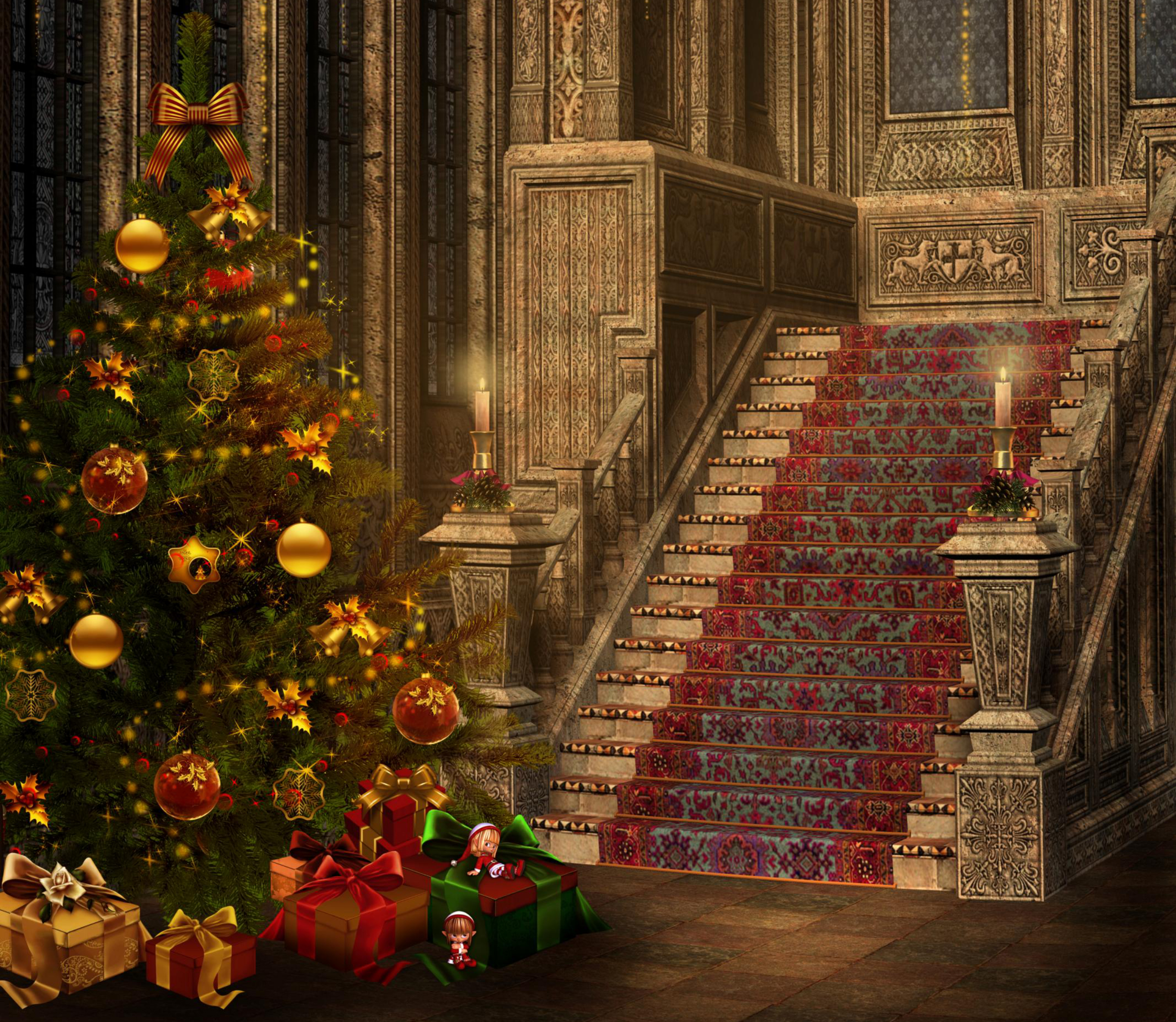 18 christmas magic desktop - photo #2