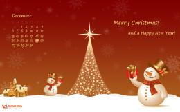 2560x1600 Christmas Snowman desktop PC and Mac wallpaper 446