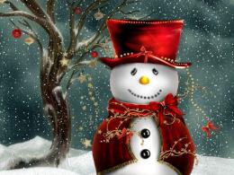 Christmas Snowman Wallpapers 211